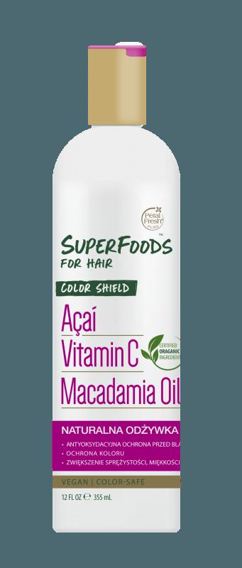 Odżywka chroniąca kolor do włosów farbowanych z jagodami Acai Color Shield