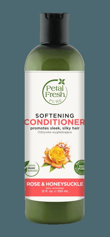 Naturalna zmiękczająca odżywka do włosów Róża i Wiciokrzew Petal Fresh Pure