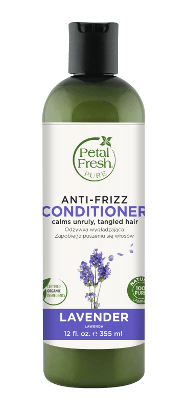 Naturalna odżywka dyscyplinująca do włosów elektryzujących i puszących się Lawenda Petal Fresh Pure