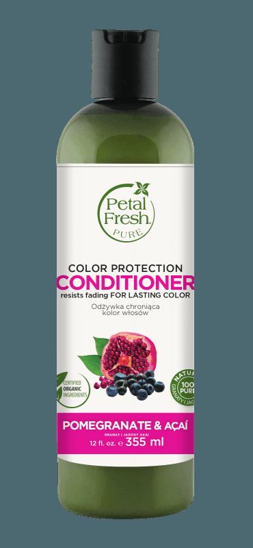 Naturalna odżywka do włosów farbowanych Granat i Acai Petal Fresh Pure