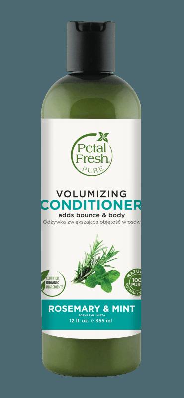 Naturalna odżywka zwiększająca objętość włosów Rozmaryn i mięta Petal Fresh Pure