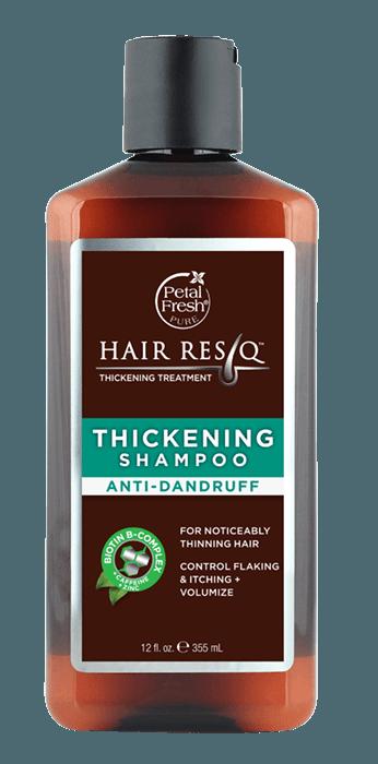 Naturalny szampon do pielęgnacji włosów z tendencją do powstawania łupieżu HAIR RESCUE™ Petal Fresh Pure