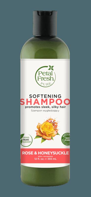 Naturalny zmiękczający szampon do włosów Róża i Wiciokrzew Petal Fresh Pure