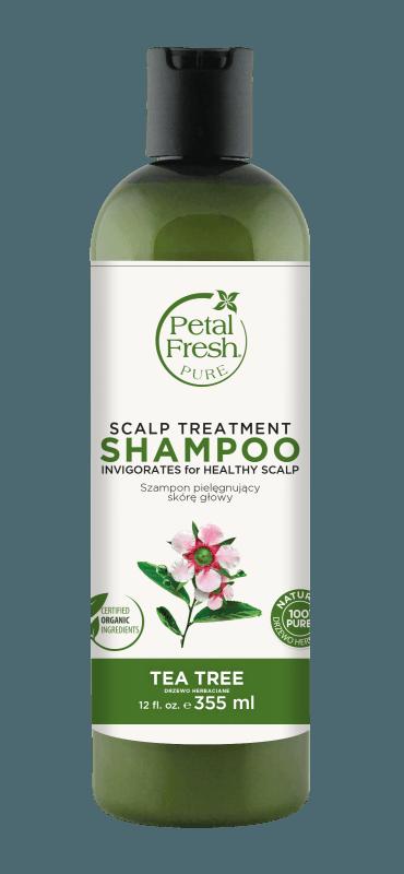 Naturalny szampon do wrażliwej skóry głowy Drzewo herbaciane Petal Fresh Pure